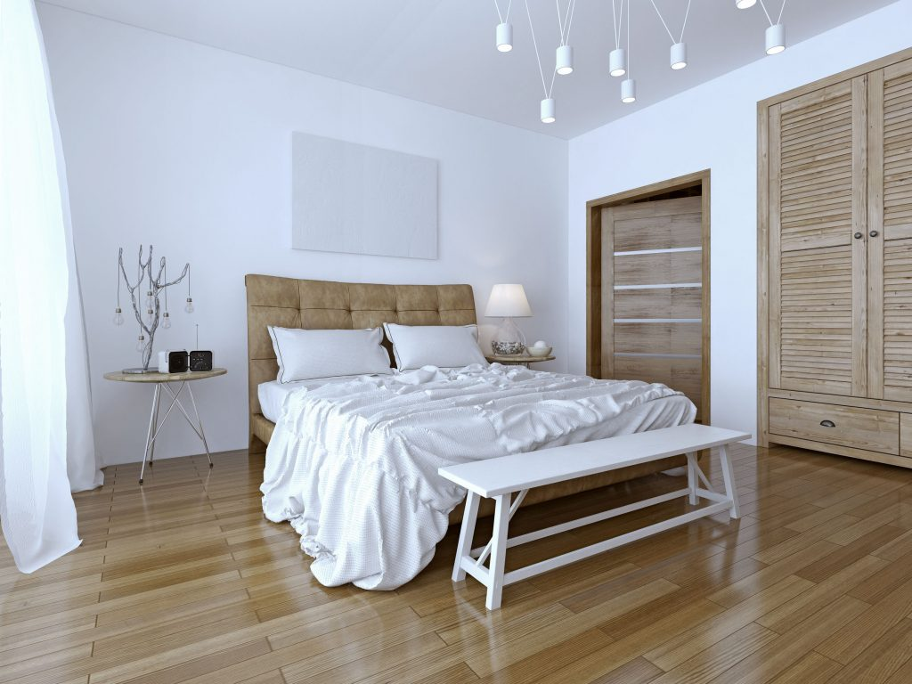 Beautiful and modern home and hotel bedroom